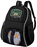 Ohio Bobcats Ball Backpack Bag