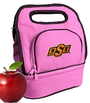 Oklahoma State Cowboys Lunch Bag Pink