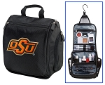 Oklahoma State Toiletry Bag or OSU Cowboys Shaving Kit Travel Organizer for Men