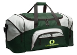 University of Oregon Duffle Bag Green