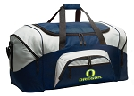 Large University of Oregon Duffle UO Duffel Bags