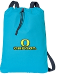 University of Oregon Cotton Drawstring Bag Backpacks Blue