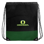 University of Oregon Drawstring Backpack Bags Green