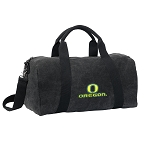 University of Oregon Duffel RICH COTTON Washed Finish Black