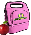 University of Oregon Lunch Bag Pink