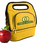 University of Oregon Lunch Bag Gold