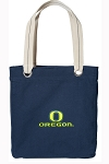 OU Tote Bag RICH COTTON CANVAS Navy