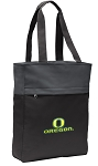 University of Oregon Tote Bag Everyday Carryall Black