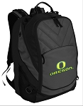 University of Oregon Deluxe Laptop Backpack Black