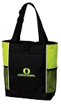 University of Oregon Tote Bag COOL LIME