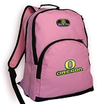 University of Oregon Pink Backpack