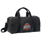 OSU Ohio State Duffel RICH COTTON Washed Finish Black