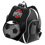 OSU Ohio State Soccer Ball Backpack
