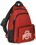 Ohio State Backpack Cross Body Style Red
