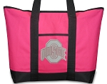 Ladies OSU Cute Pink Tote Bag