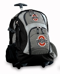 OSU Rolling Backpack Black Gray