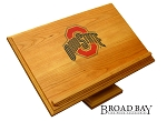 OSU Ohio State Buckeyes Bible Holder or Cookbook Stand Cherry