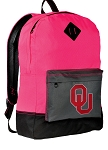 Backpack Classic Style HOT PINK