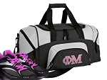 Small Phi Mu Gym Bag or Small Phi Mu Sorority Duffel