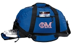 Phi Mu Duffle Bag Royal