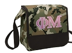 Phi Mu Lunch Bag Cooler Camo