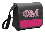 Phi Mu Lunch Bag Cooler Pink