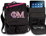 Phi Mu Tablet Bags & Cases Pink