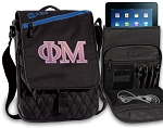 Phi Mu Tablet Bags & Cases Blue