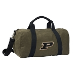 Purdue Duffel RICH COTTON Washed Finish Khaki