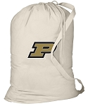 Purdue Laundry Bag Natural