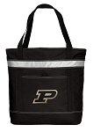 Purdue University Insulated Tote Bag Black