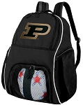 Purdue University Soccer Ball Backpack