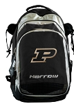 Purdue University Harrow Field Hockey Lacrosse Backpack Bag