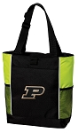 Purdue University Tote Bag COOL LIME