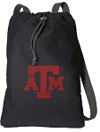 Texas A&M Cotton Drawstring Bag Backpacks
