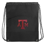 Texas A&M Drawstring Cinch Backpack Bag
