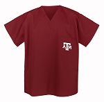 Texas A&M Aggies Scrubs Top Shirt-