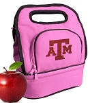 Texas A&M Lunch Bag Pink
