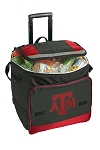 Texas A&M Rolling Cooler Bag Red