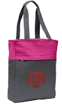 Texas A&M Tote Bag Everyday Carryall Pink