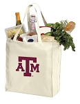 Texas A&M Aggies Shopping Bags Canvas