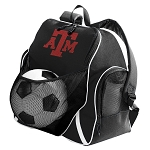 Texas A&M Soccer Ball Backpack