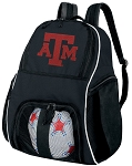 Texas A&M Soccer Backpack or Texas A&M Aggies Volleyball Bag For Boys or Girls