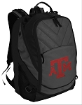 Texas A&M Deluxe Laptop Backpack Black