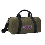 TCU Duffel RICH COTTON Washed Finish Khaki