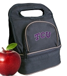 TCU Texas Christian Lunch Bag Black