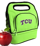 TCU Lunch Bag Green