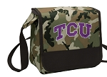 TCU Texas Christian Lunch Bag Cooler Camo