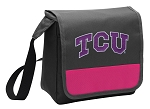 TCU Texas Christian Lunch Bag Cooler Pink