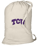 TCU Laundry Bag Natural